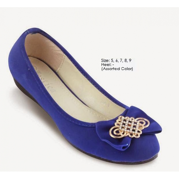 **CELLY** AUTHENTIC LADIES FLAT SHOE (ASSORTED COLOUR)
