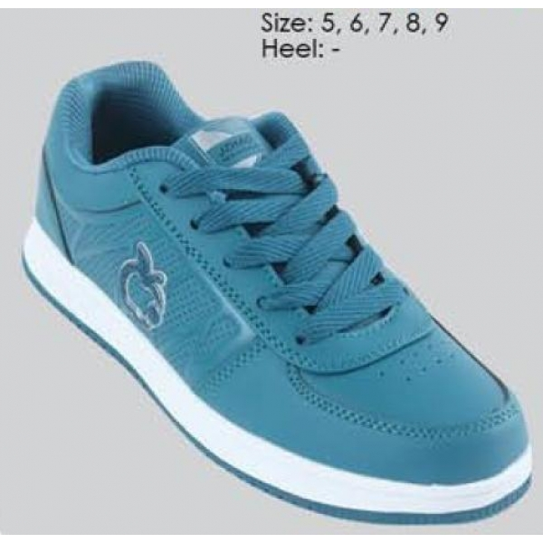 **CELLY** AUTHENTIC LADIES SPORT/ SNEAKER SHOE (BLUE+WHITE)