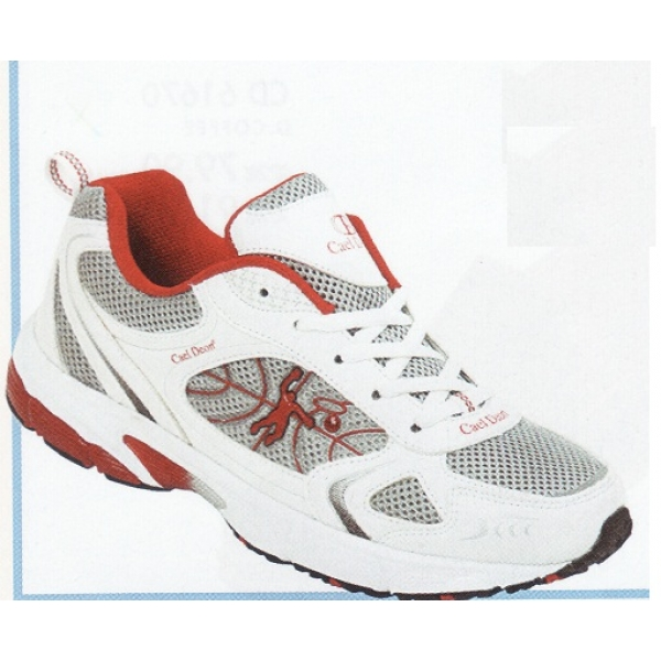 **CELLY**Authentic Men Sport Shoe(White+Red)