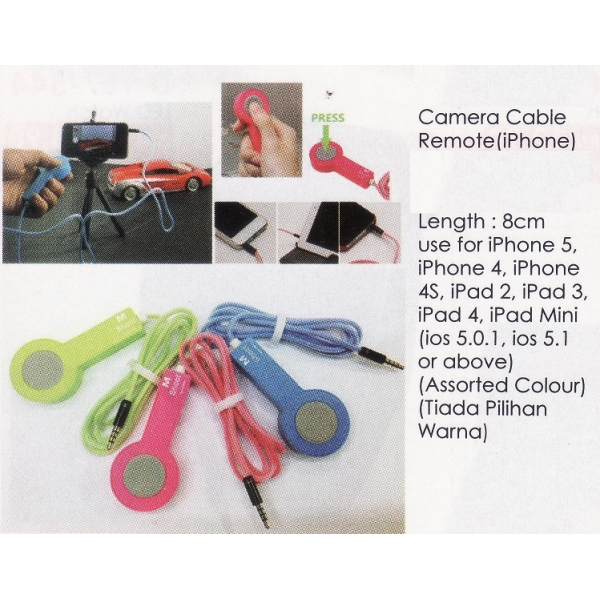 **CELLY** CAMERA CABLE REMOTE(IPHONE)