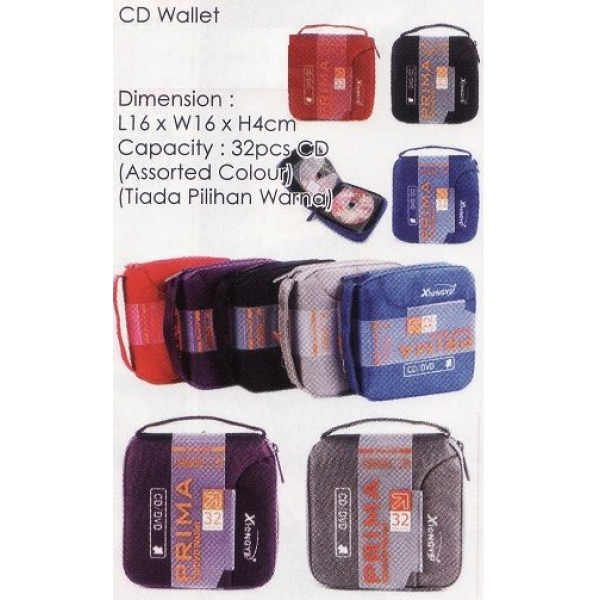 **CELLY** CD WALLET(ASSORTED COLOUR)