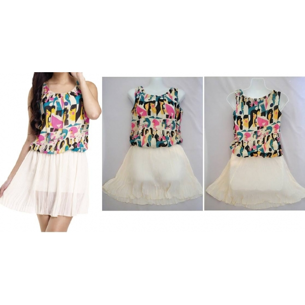 **CELLY**CHIFFON DRESS