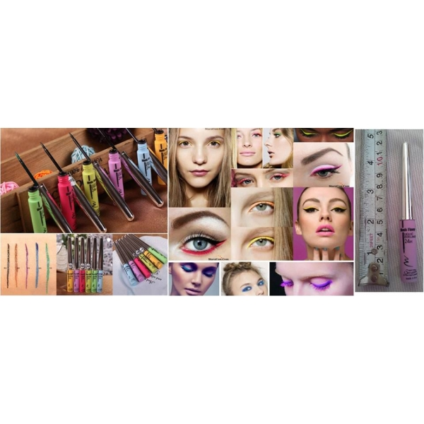 **CELLY**COLORFUL EYELINER COSMETIC WATERPROOF LIQUID BEAUTY MAKE UP
