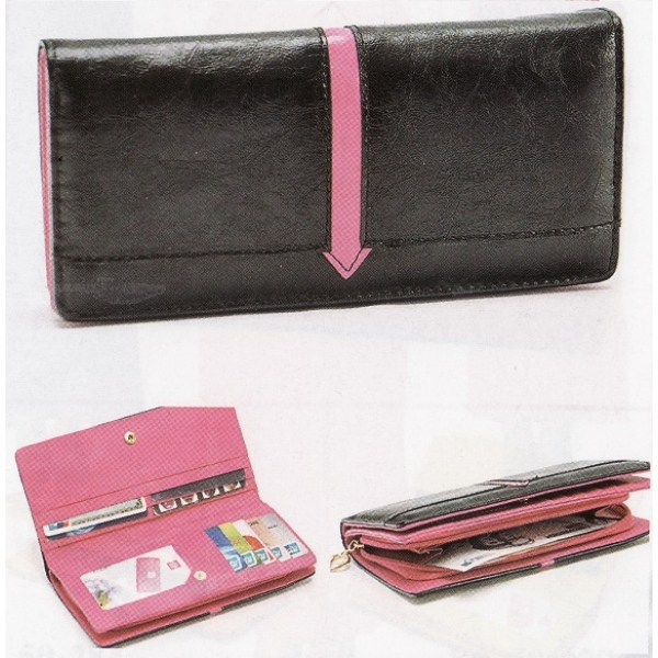 **CELLY**Colourful Pouch / Purse (Black)