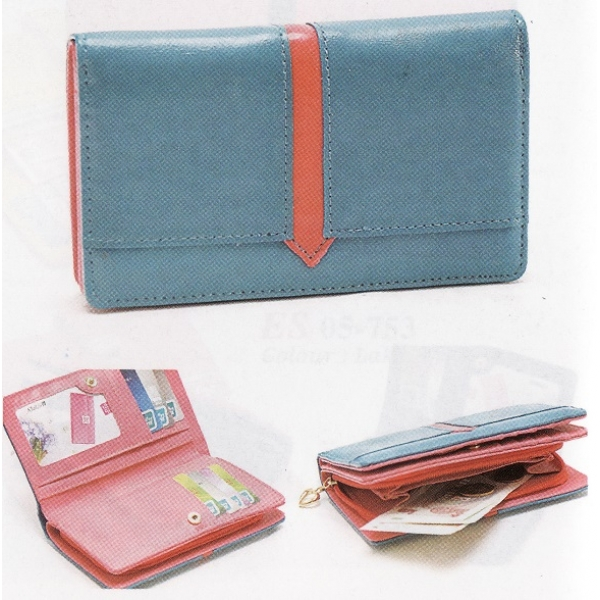 **CELLY**Colourful Pouch / Purse (Lake Blue)