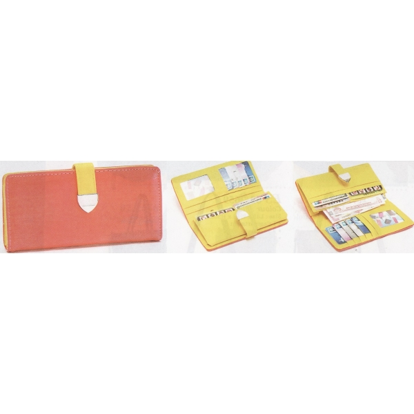 **CELLY**Colourful Pouch / Purse (Melon Red)