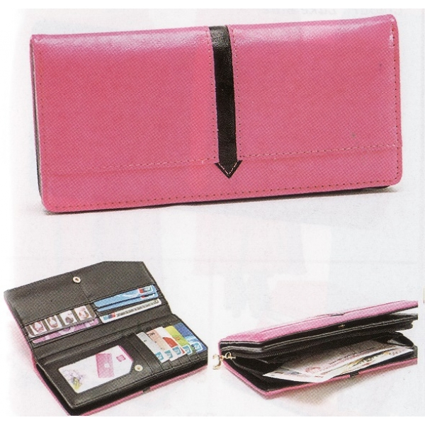 **CELLY**Colourful Pouch / Purse (Rose Pink)