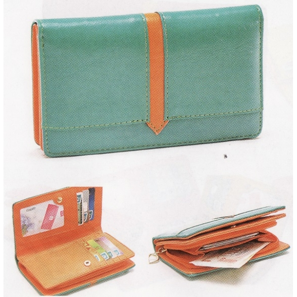 **CELLY**Colourful Pouch / Purse (Turquoise Green)