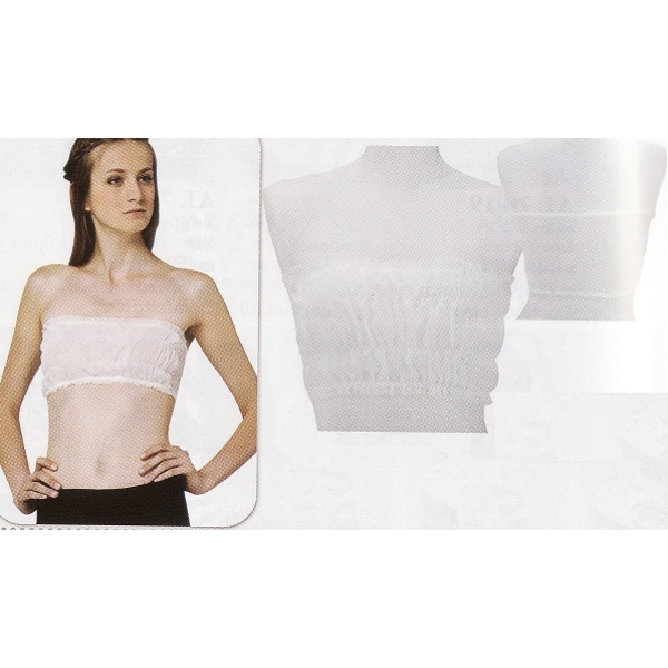 **CELLY**COMFORTABLE ~ HIGH QUALITY TUBE TOP ~ (WHITE)