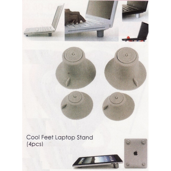 **CELLY** COOL FEET LAPTOP STAND(4PCS)