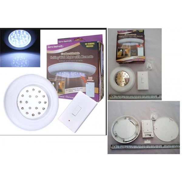 **CELLY**CORDLESS WALL LIGHT WITH REMOTE