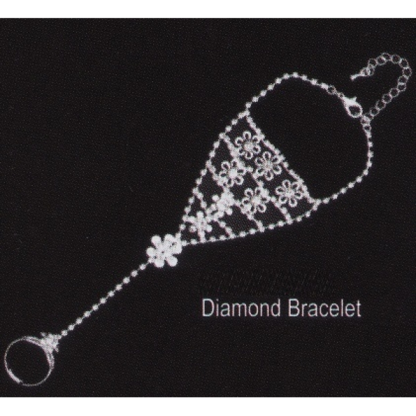 **CELLY** DIAMOND BRACELET CHAIN WITH RING