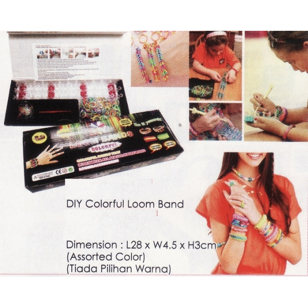 **CELLY** DIY COLORFUL LOOM BAND