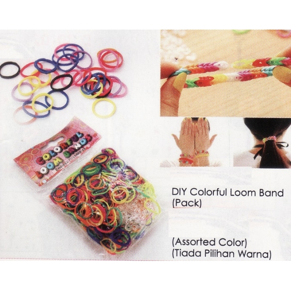 **CELLY** DIY COLORFUL LOOM BAND (PACK)
