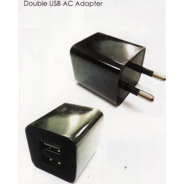 **CELLY** DOUBLE USB AC ADAPTER