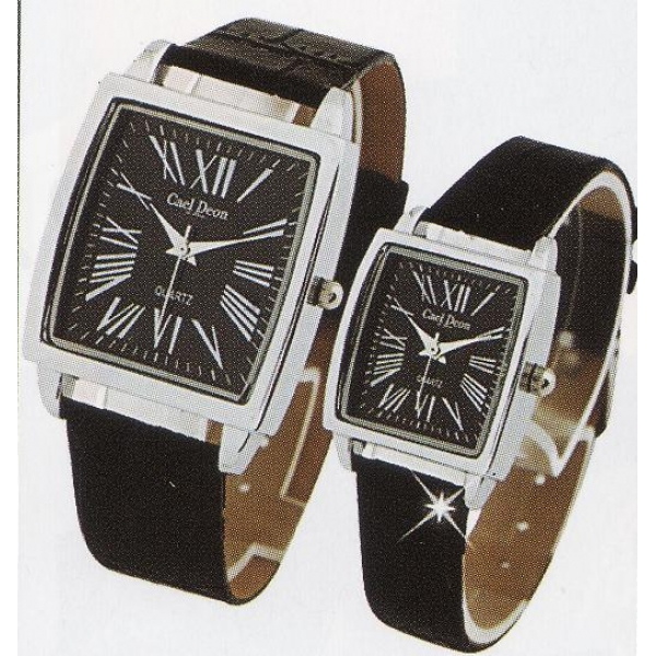 **CELLY**FASHIONABLE COUPLE WATCH (BLACK)