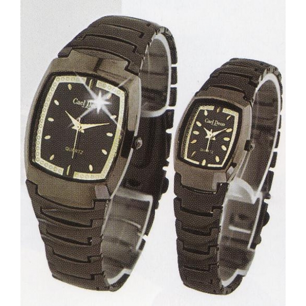 **CELLY**FASHIONABLE COUPLE WATCH (GREY)