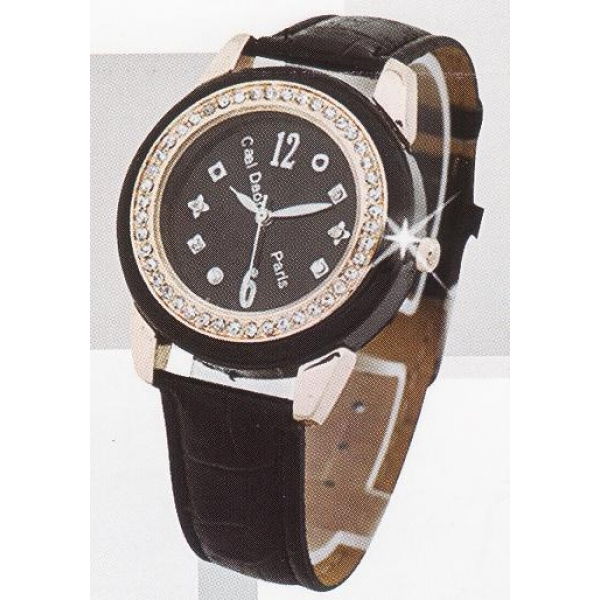 **CELLY**FASHIONABLE LADIES WATCH (BLACK)