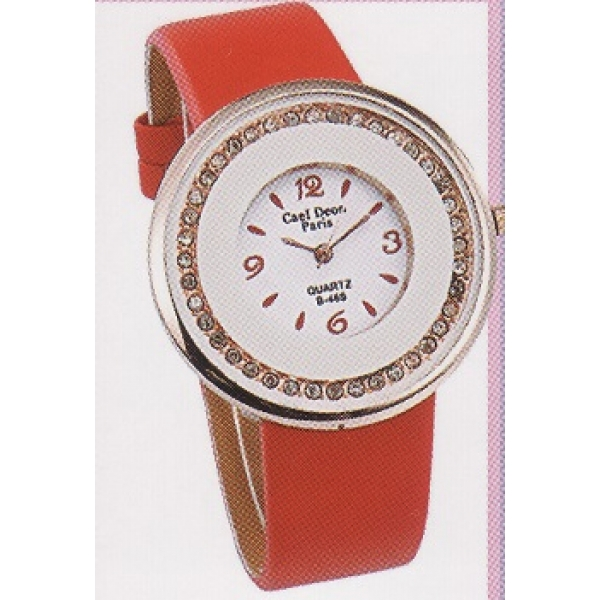 **CELLY**Fashionable Ladies Watch (Orange)