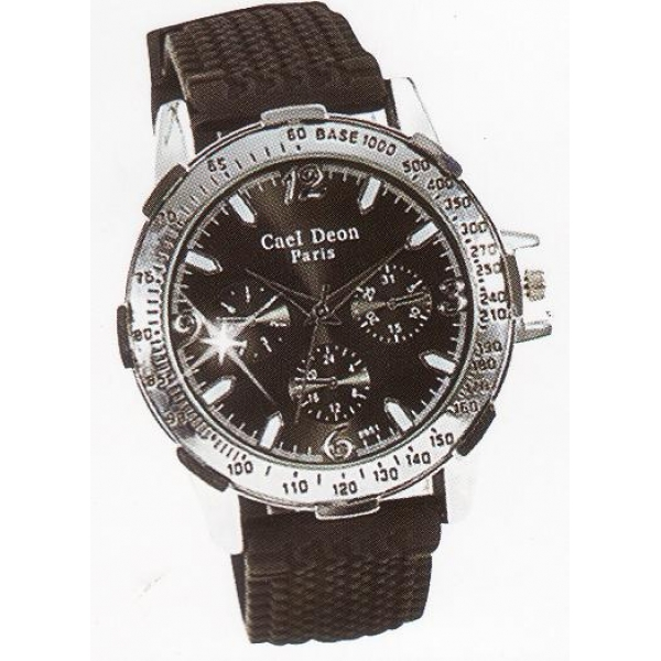 **CELLY**FASHIONABLE MEN WATCH (BLACK)