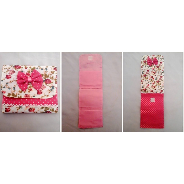 **CELLY**FLORA RIBBON SANITARY PAD POUCH