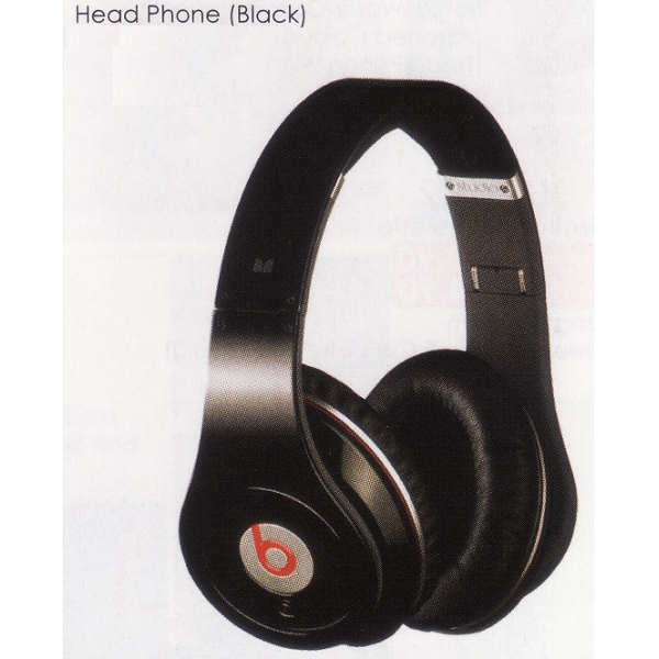 **CELLY** HEAD PHONE (BLACK)