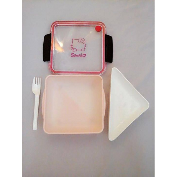 **CELLY**Hello Kitty Air Tight Lunch Box