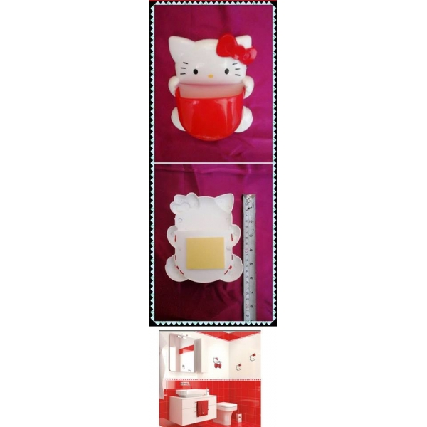 **CELLY**HELLO KITTY BATHROOM ACCESSORIES DISPENCER