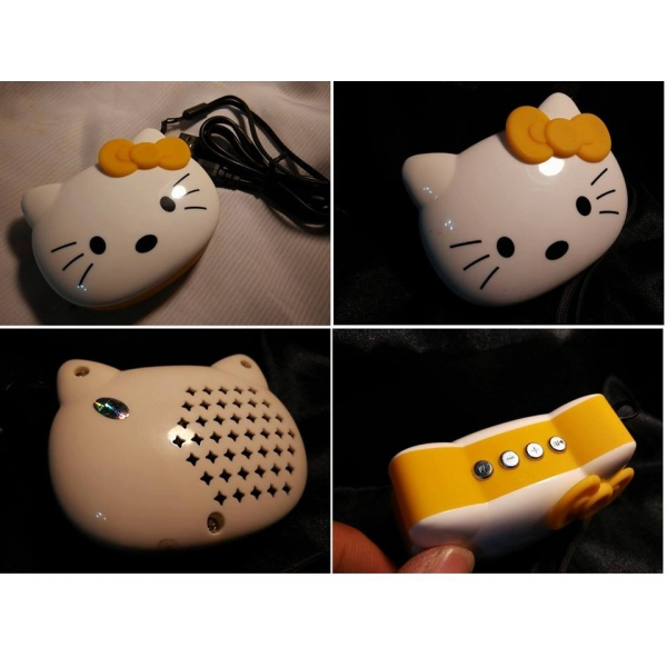 **CELLY**HELLO KITTY MINI MP3 SPEAKER