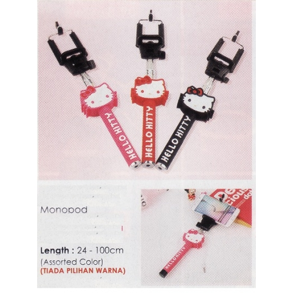 **CELLY** Hello Kitty Monopod(Assorted Color)