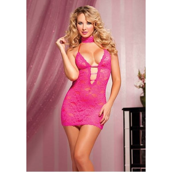 **CELLY** IMPORTED 3 PIECE TIE-BACK CHEMISE