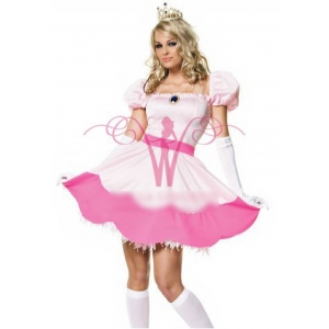 **CELLY** Imported Adult Princess Peach Costume