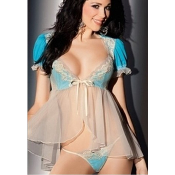 **CELLY** IMPORTED ALLURING BABYDOLL WITH PANTY