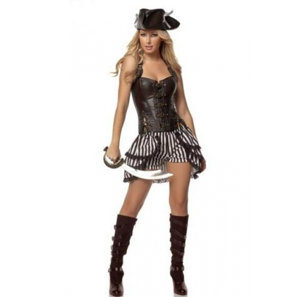 **CELLY**IMPORTED ALLURING VIXEN PIRATE COSTUME