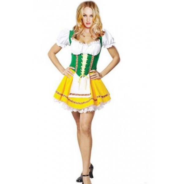 **CELLY** IMPORTED BEER GARDEN GIRL ADULT COSTUME