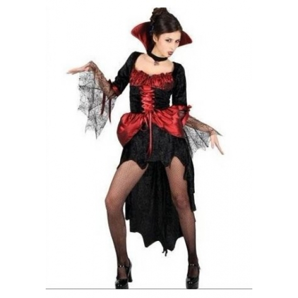 **CELLY** IMPORTED BLACK AND RED WICKED COSTUME