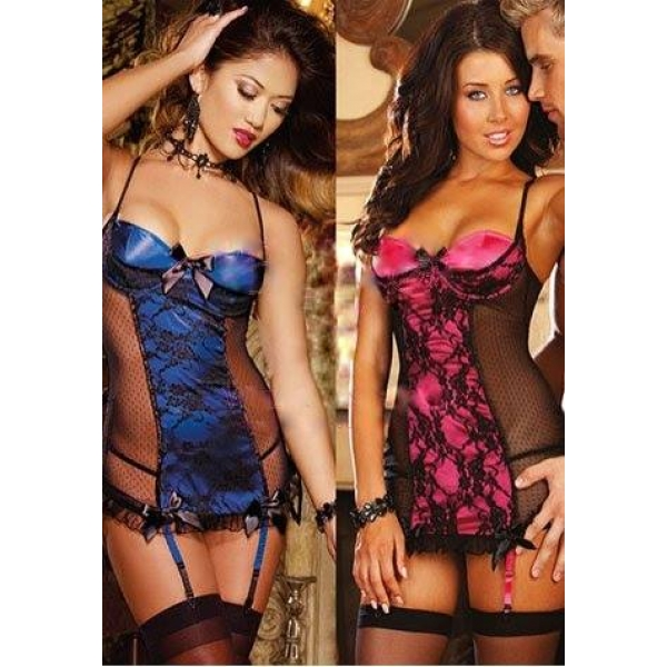**CELLY** IMPORTED BOMBSHELL LACE MINI DRESS