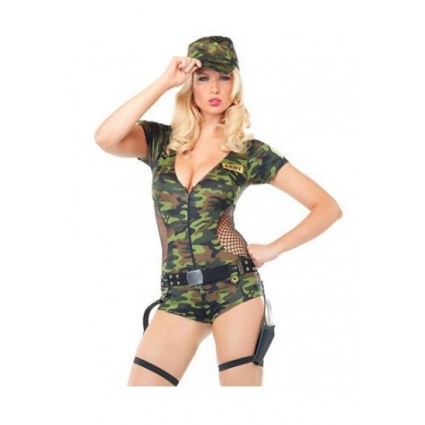 **CELLY** IMPORTED CAMO ARMY COSTUME