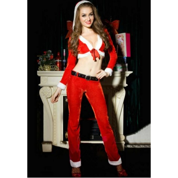 **CELLY** IMPORTED CHRISTMAS COSTUME WITH THREE PIECES