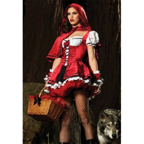 **CELLY** IMPORTED DELUXE RED RIDING HOOD COSTUME