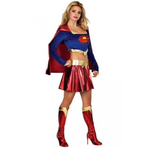 **CELLY** IMPORTED DELUXE SUPERGIRL COSTUME