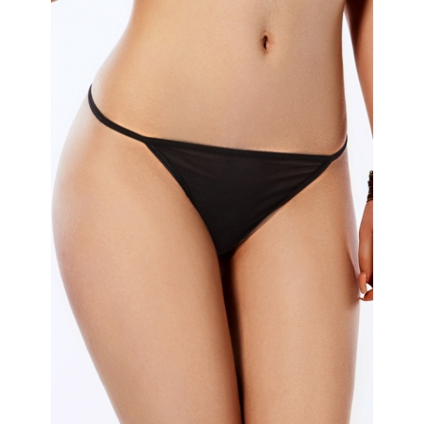 **CELLY** IMPORTED DIAMOND BACK G-STRING(BLACK)