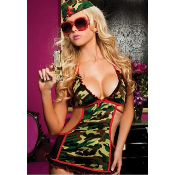 **CELLY** IMPORTED FANTASTIC WOMEN ARMY COSTUME