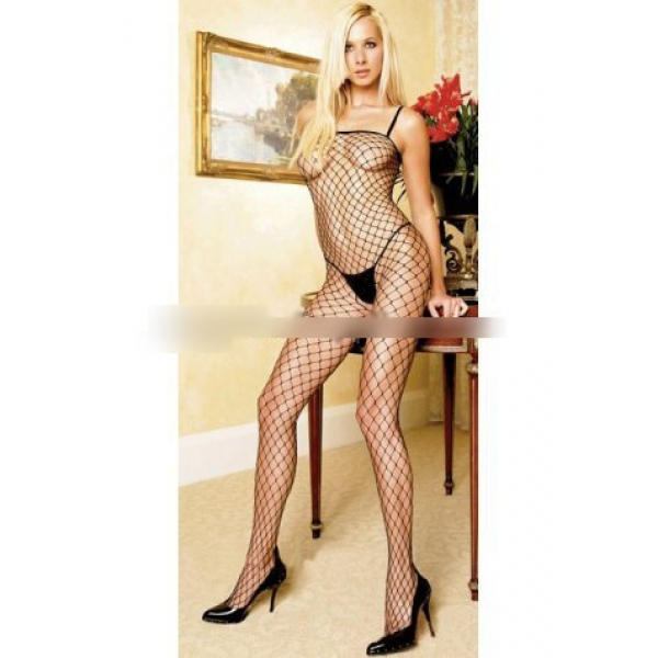 **CELLY** Imported Fencenet Body Stocking