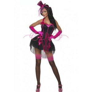 **CELLY** Imported Fever Bow Burlesque Costume