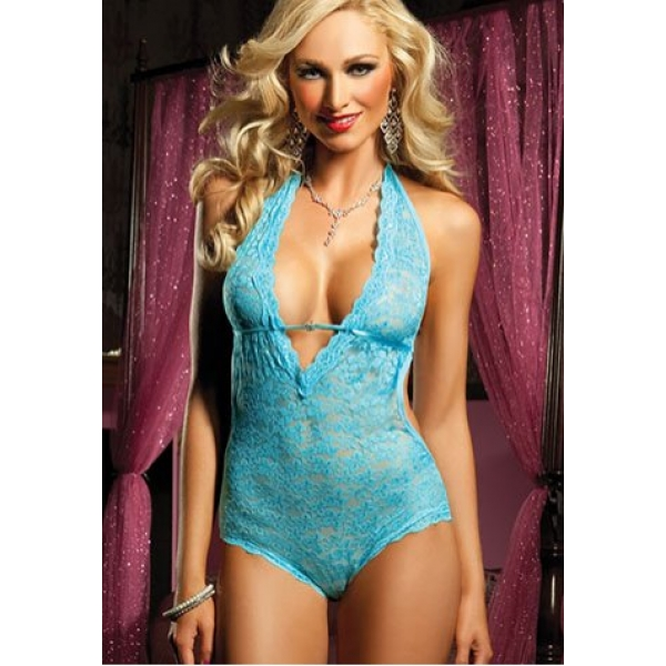 **CELLY** IMPORTED FLORAL LACE UPTOWN TEDDY