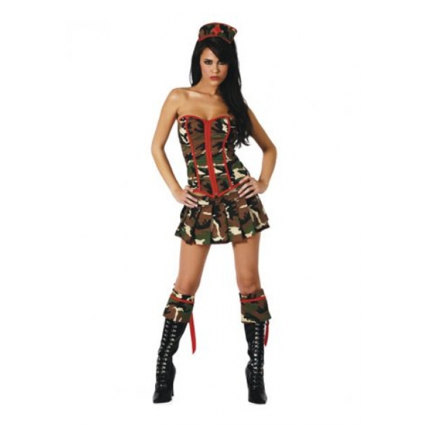 **CELLY** IMPORTED HAGGARD ARMY CUTIE COSTUME