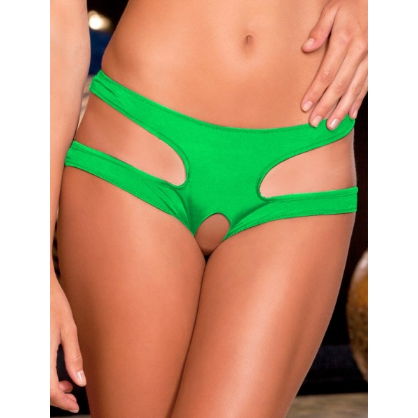 **CELLY** IMPORTED HOLLOW OUT SEXY PANTY (GREEN)