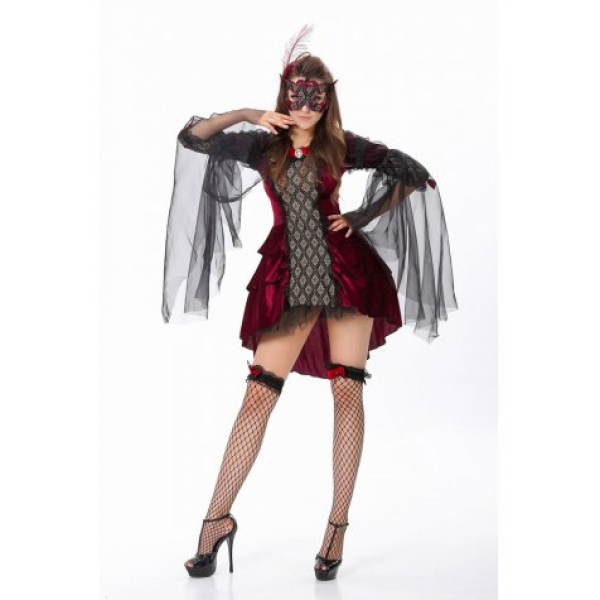 **CELLY** IMPORTED HOLLOWEEN VAMPIRE COSTUME