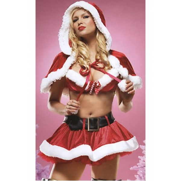 **CELLY** IMPORTED HOLLY HOLIDAY SEXY OUTFIT